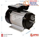 Mô tơ động cơ điện Hồng Ký HKM0.514MDY 1 pha công suất 0.5HP