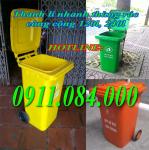 thùng rác 240 lít giá re