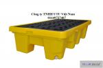 BlueSP-2D Pallet chống tràn dầu KT 1320x660x300
