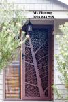 Cổng, cửa sắt cắt CNC nghệ thuật, sơn tĩnh điện bền đẹp