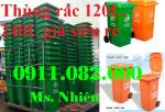 Thùng rác 120 lít chỉ có 490k giá rẻ ưu đãi- thùng rác 240 lít giá thấp