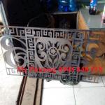 Gia công trọn gói cắt CNC hoa văn trên sắt tấm, inox, nhôm, đồng