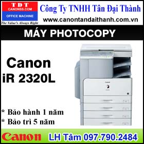 My photocopy Canon iR 2320L    