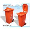 Thùng rác EDHP  120 lit - 0984