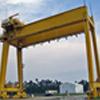 cổng trục hai dầm 150-30 tấn dùng trong