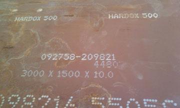 Thép chịu mài mòn Hardox 400, Hardox500