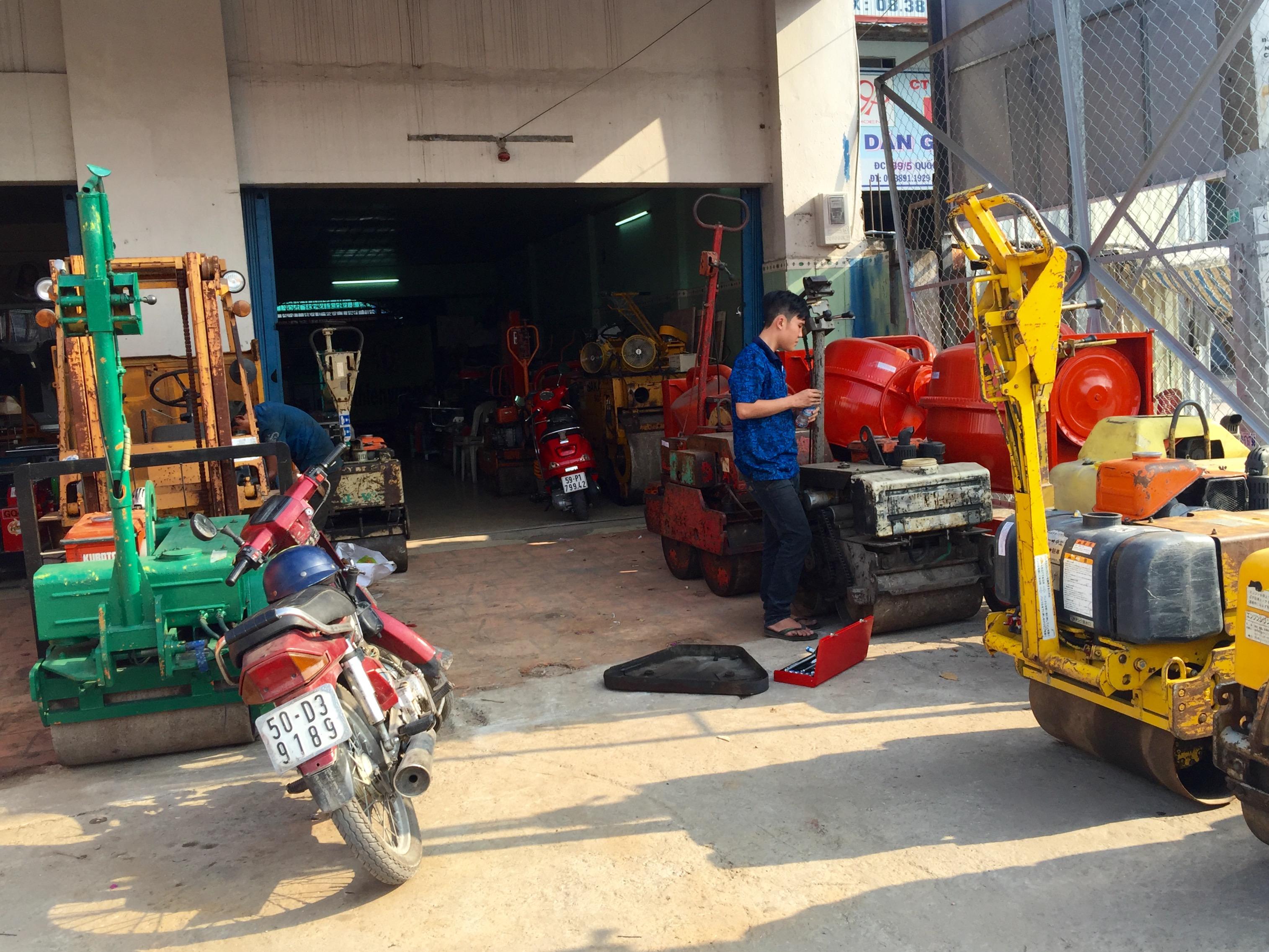 cho thue lu rung 800kg