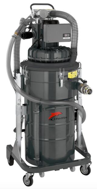 Máy hút dầu và chip sắt cho máy gia công Technoil 100IF Delfin–Ý