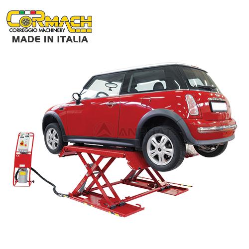 Giới thiệu cầu nâng xếp đỡ bụng cho xe con Cormach L-3000