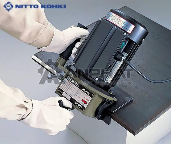 Máy vát mép Nitto HB-15B
