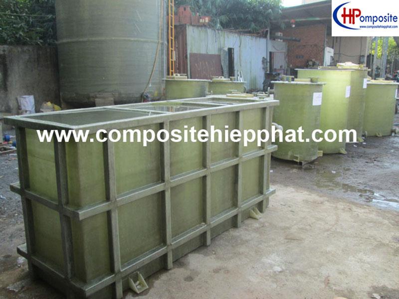 Bồn FRP xử lý nước thải