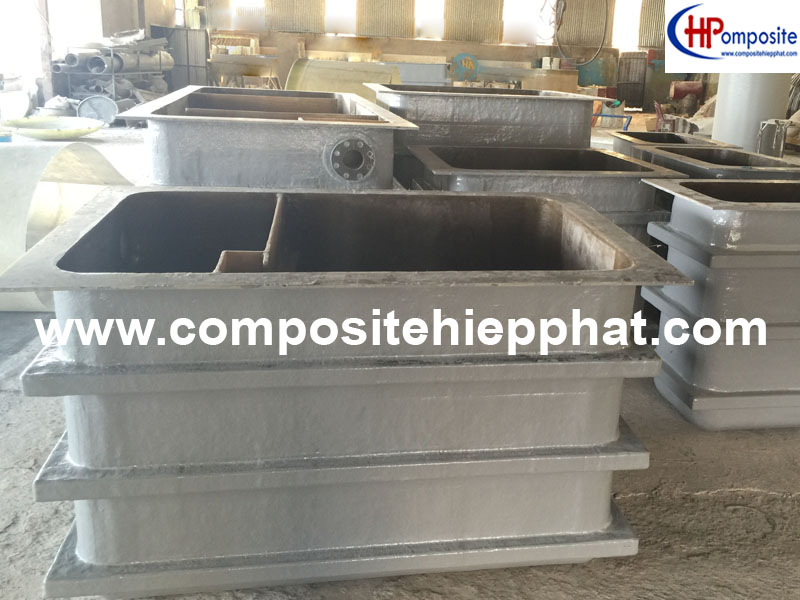 Bồn nhựa composite FRP tách mỡ