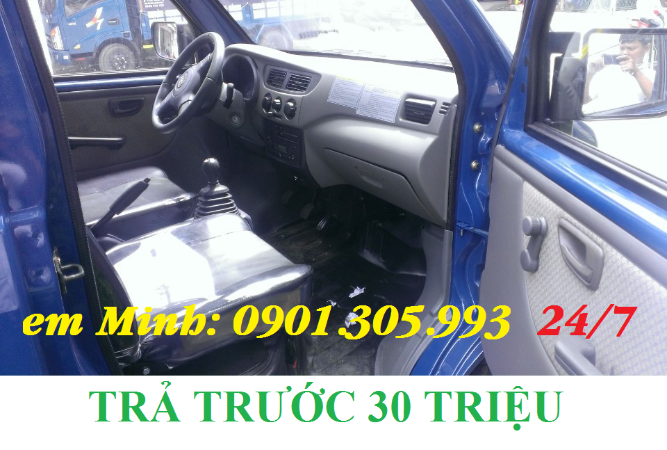 bán chuyên xe tải nhỏ dưới 1 tấn trả góp ( dongben 870kg)