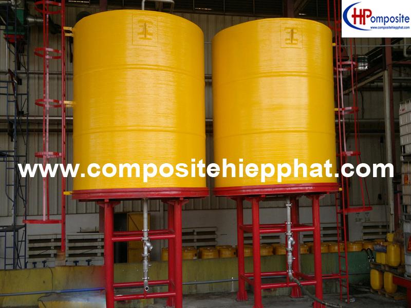 Bồn FRP chứa hóa chất đậm đặc