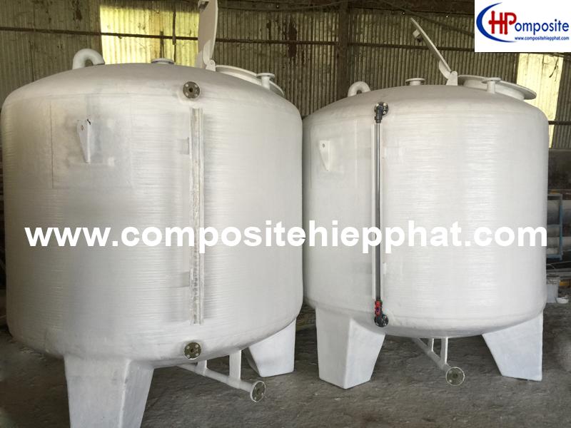 Bồn nhựa composite chứa thực phẩm