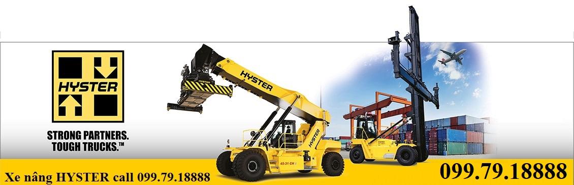 Xe nâng 6 - 7 tấn Diesel Hyster - call 0997918888