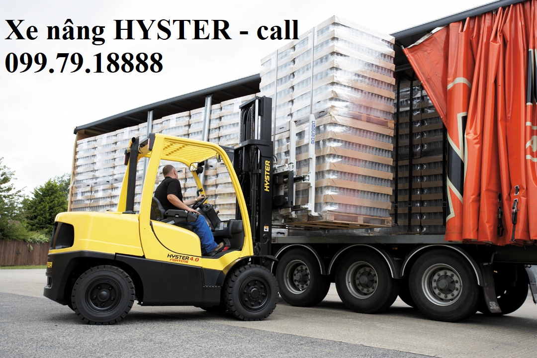 Xe nâng điện Hyster 4 bánh battery forklift 1.5 – 3.0 tấn: