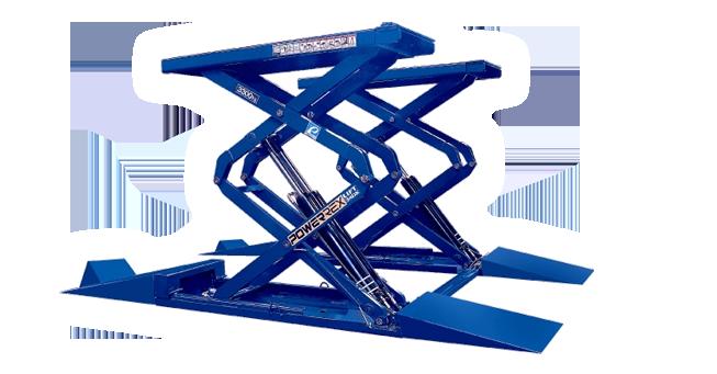 Cầu nâng cắt kéo Powerrex SL34DX