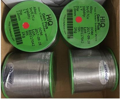Leadfree - Thiếc hàn không chì Sn99.3%Cu0.7%