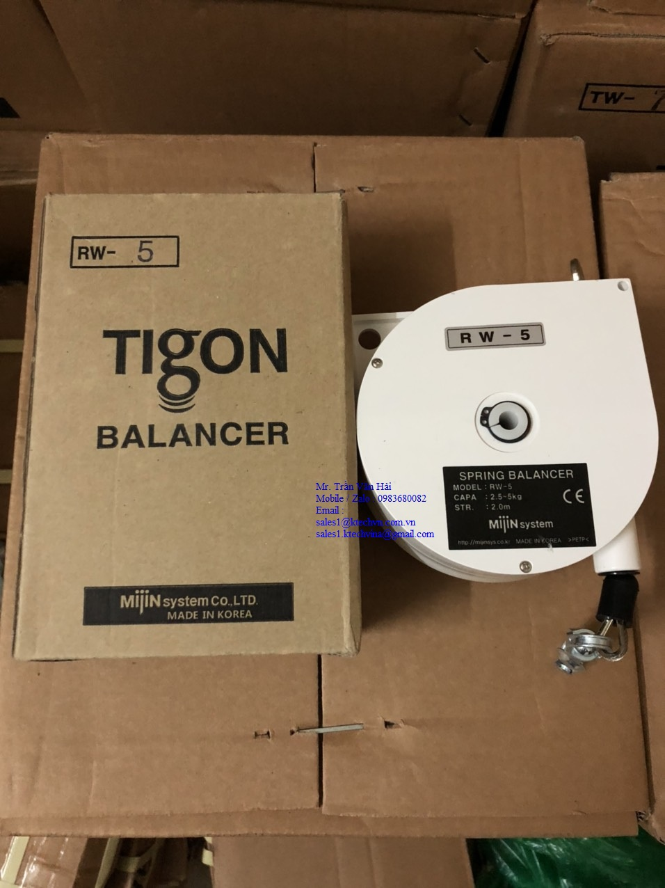 RW-5 Pa lăng cân bằng Tigon