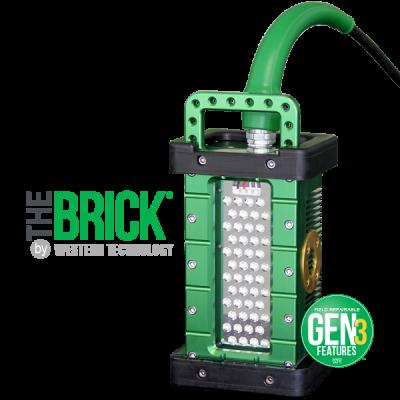 Đèn chống cháy nổ Westerntechnology brick drop
