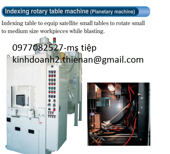 Máy đánh bóng Indexing rotary machine Fuji