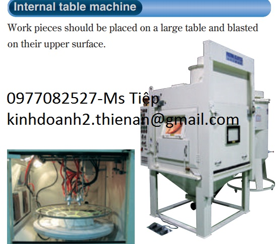 Máy đánh bóng fuji Internal table machine