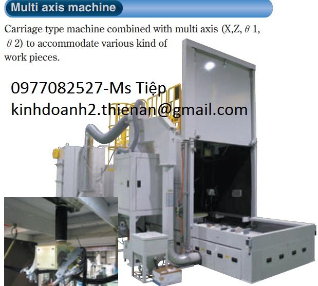 Máy đánh bóng Fuji- Multi axis machine