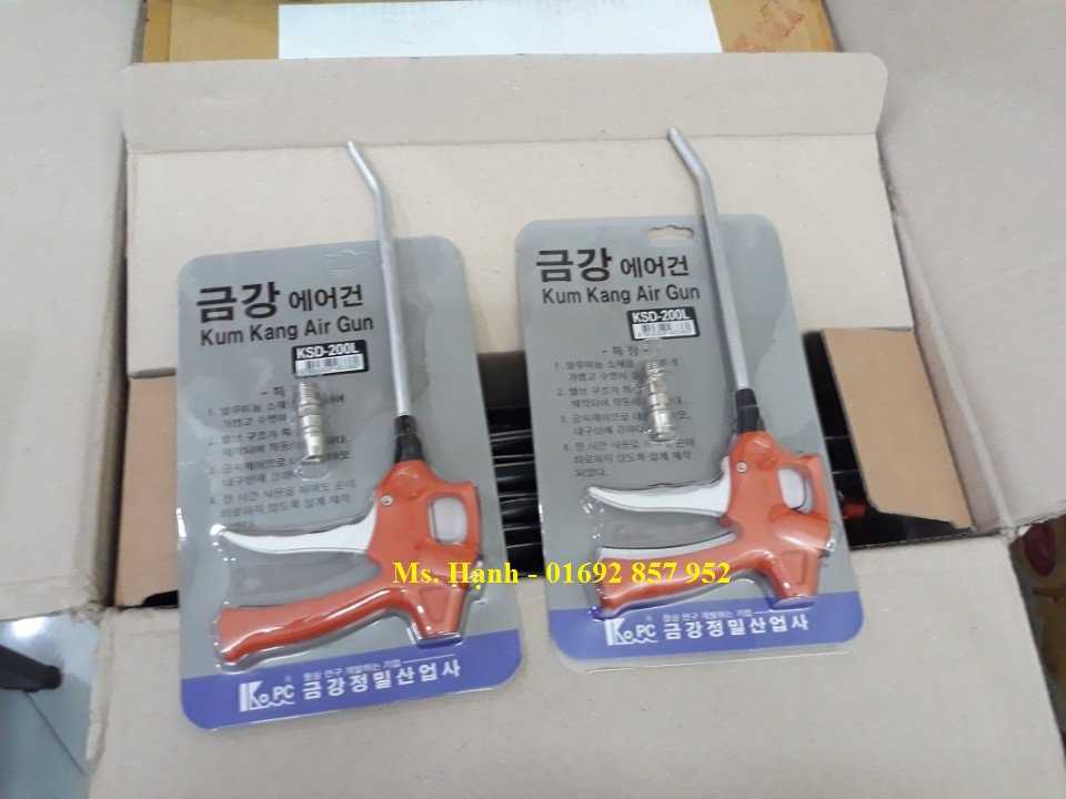 Súng xịt khí KumKang Hàn Quốc KD, KSD
