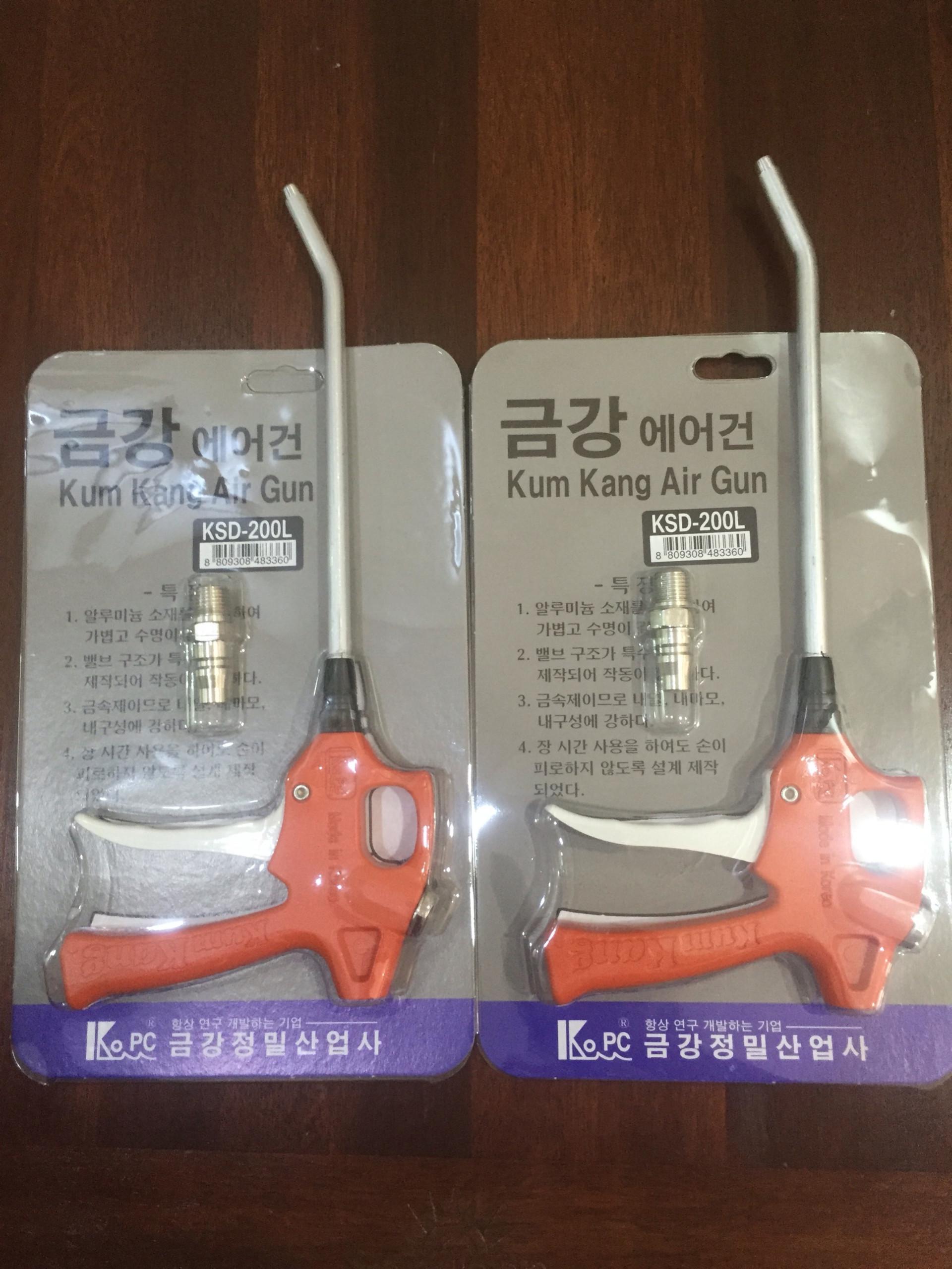 Súng xịt khí kumkang Hàn Quốc KSD-200L