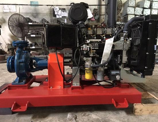 Bảng giá máy bơm chữa cháy Diesel Hyundai 15HP - 150HP