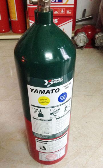 Bình Chữa Cháy CO2 4.6kg, YVC-10II - Yamato Nhật Bản/VN