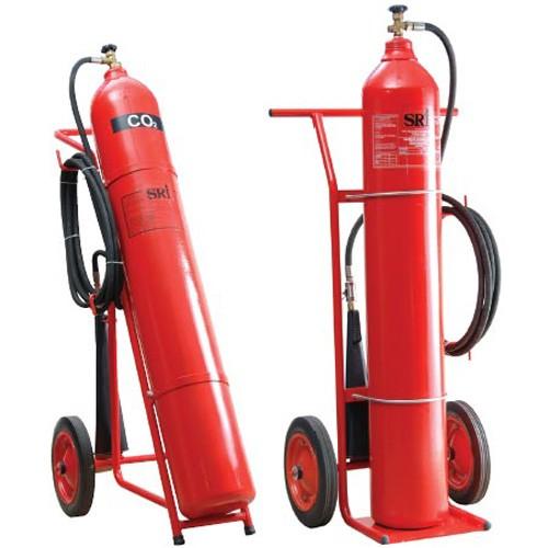 Bình chữa cháy khí CO2 xe đẩy MT24