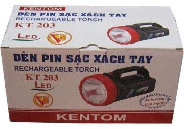 Đèn sạc cầm tay KT-203 Kentom- Việt Nam