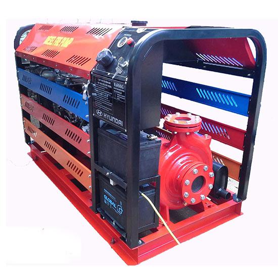 Máy bơm chữa cháy Diesel CA65-250NA        Công suất :   37Kw/50Hp