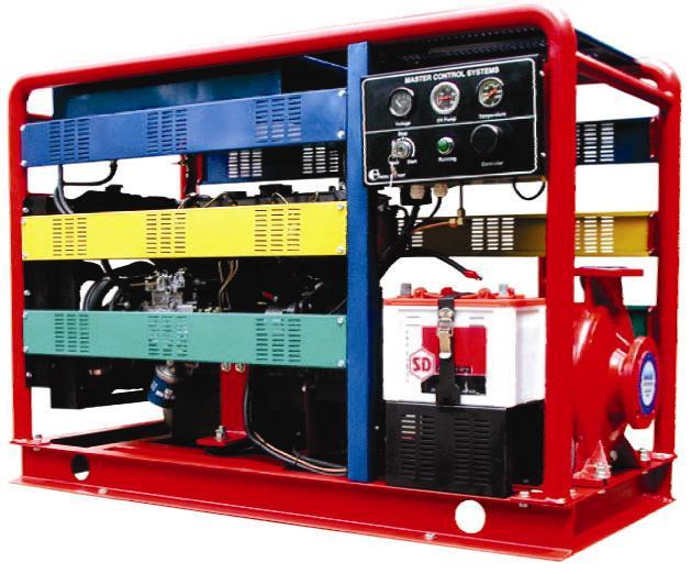 Máy bơm chữa cháy Diesel CA80-250B    Công suất : 55Kw/75 Hp