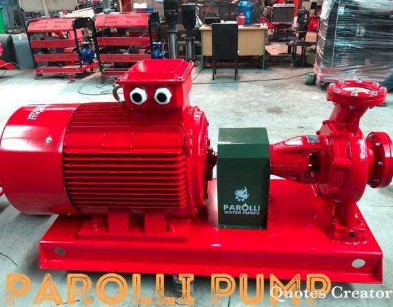 Máy bơm Điện 125HP Parolli PS 125 - 250/900 - Trục rời