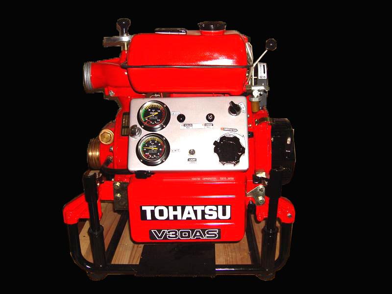 Máy bơm Xăng Tohatsu 20hp- V30AS