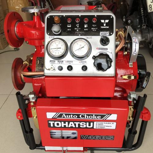 Máy bơm Xăng Tohatsu 40hp- V46BS