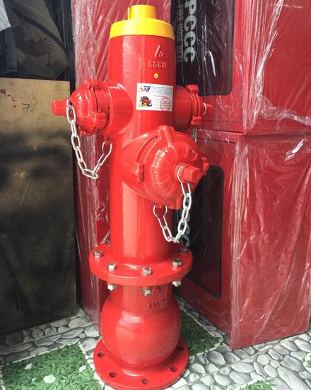 Trụ cứu hỏa có đế FHDF DN100