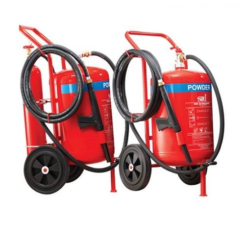 Xe đẩy chữa cháy bột khô ABC  Sri FEX221-MS-500-EN