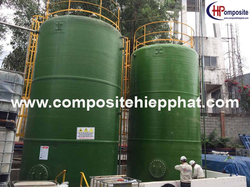 Bồn composite chứa hóa chất DMF