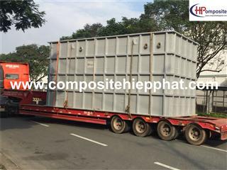 Bồn nhựa composite chứa nước thải