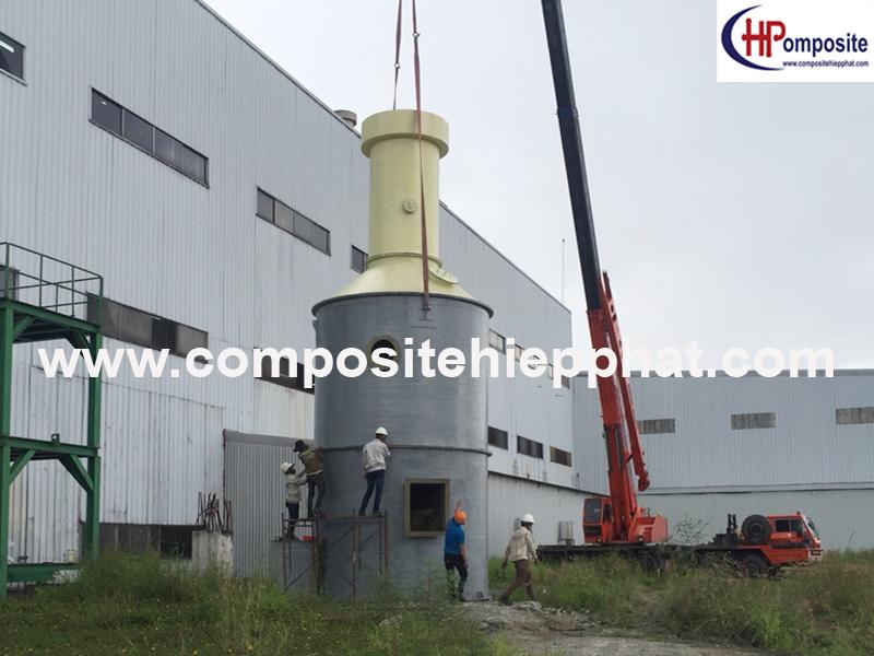 Tháp xử lý khí công nghiệp