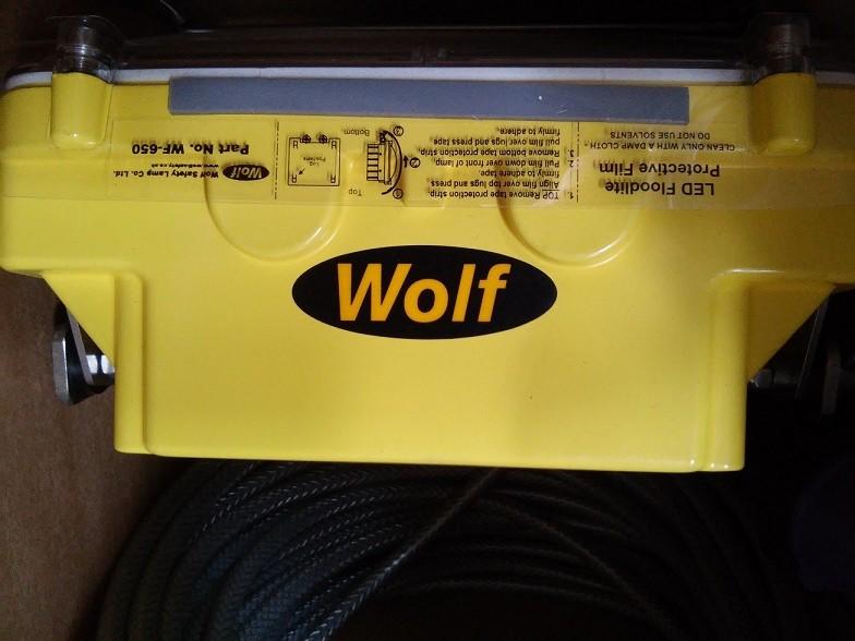 Đèn Led chống cháy nổ của hãng WOLF - UK