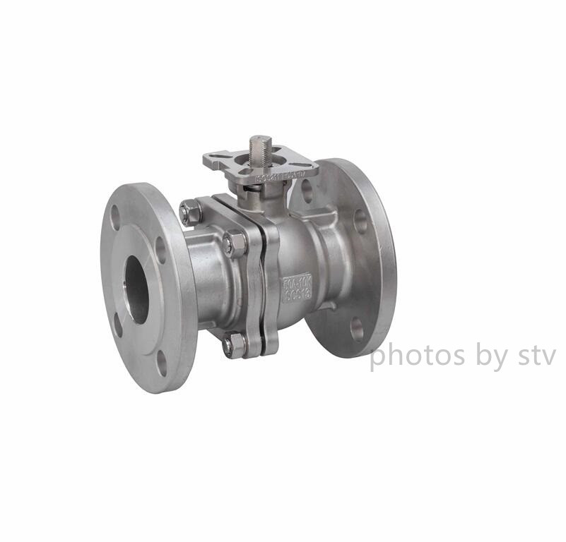 JIS 10K Flanged Ball Valve,ISO5211 Mounting Pad,SCS13,50A