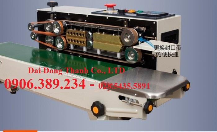 Máy hàn miệng túi băng tải liên tục DBF-770