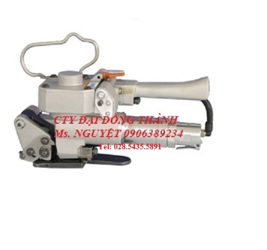 Máy đóng đai nhựa cầm tay dùng hơi khí nén hàn nhiệt giá tốt HCM, Bình Dương, Đồng Nai