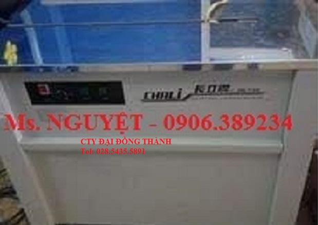 Máy đóng đai thùng bằng dây đai nhựa PP model Chali JN-740