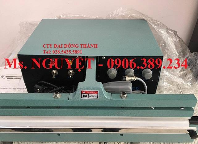Máy hàn miệng bao tự động PS450 hàn túi nhôm, nilon giá rẻ Bình Định, Khánh Hòa